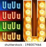 ultimate realistic lamp board...   Shutterstock .eps vector #198007466