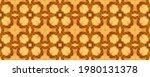 Brown Arabic Mosaic Pattern....