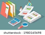 visualize with business... | Shutterstock .eps vector #1980165698