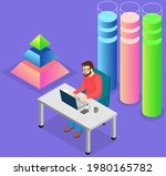 visualize with business... | Shutterstock .eps vector #1980165782