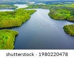 The Orlik Reservoir On Vltava...