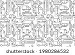 Cute Seamless Vector Pattern...