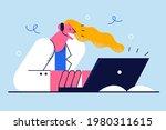 telemedicine  online medical... | Shutterstock .eps vector #1980311615