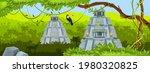 maya ancient pyramid  jungle...   Shutterstock .eps vector #1980320825