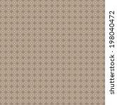 geometric circle pattern | Shutterstock .eps vector #198040472