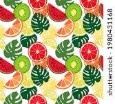 seamless texture of green... | Shutterstock .eps vector #1980431168