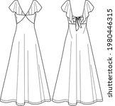 Vector Sleeveless Maxi Dress...