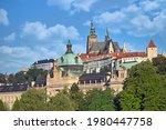 Prague Castle Hradcany Prague...