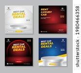 rent a car banner for  social... | Shutterstock .eps vector #1980466358