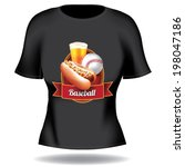 Baseball T Shirt Design.
