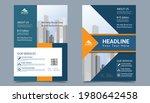 corporate business flyer layout ...   Shutterstock .eps vector #1980642458