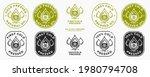 stamp  sticker   cold pressed...   Shutterstock .eps vector #1980794708