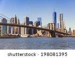 brooklyn bridge  new york city | Shutterstock . vector #198081395