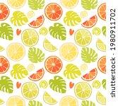seamless texture of green... | Shutterstock .eps vector #1980911702