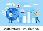 male and female characters... | Shutterstock .eps vector #1981034732