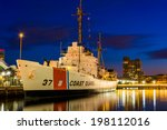 the usgc taney coast guard... | Shutterstock . vector #198112016