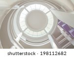 Radial Glass Dome Of A Modern...