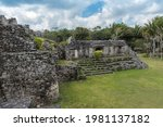 the ruins of the ancient mayan... | Shutterstock . vector #1981137182