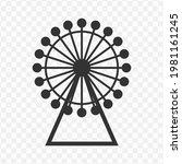 transparent the ferris wheel...