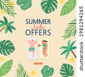 summer shopping event... | Shutterstock .eps vector #1981294265