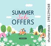 summer shopping event...   Shutterstock .eps vector #1981294268