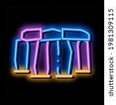 Stonehenge Neon Light Sign...