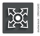 fullscreen sign icon. arrows...