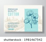local premium cotton label...   Shutterstock .eps vector #1981467542