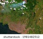 Satellite Image Of Goma ...