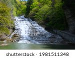 Buttermilk Falls In Upstate New ...