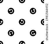 seamless pattern of repeated... | Shutterstock .eps vector #1981566452