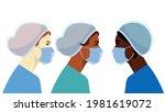 medical occupation concept....   Shutterstock .eps vector #1981619072