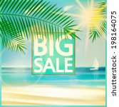 final summer sale design... | Shutterstock .eps vector #198164075