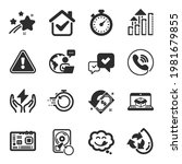 set of technology icons  such...   Shutterstock .eps vector #1981679855