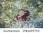 a nine month old boy wearing a... | Shutterstock . vector #1981695755