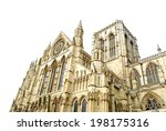 York Gothic Cathedral Isolated...
