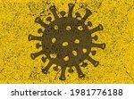 virus warning background....   Shutterstock .eps vector #1981776188