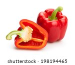 Bell Peppers Isolated