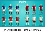 set of four soccer teams... | Shutterstock .eps vector #1981949018