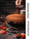 Homemade Molten Chocolate Cake...