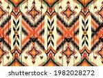 oriental ethnic seamless... | Shutterstock .eps vector #1982028272