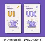 vector user interface and... | Shutterstock .eps vector #1982093045
