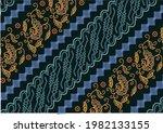 development of the parang batik ... | Shutterstock .eps vector #1982133155