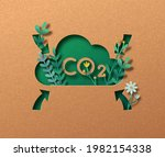 co2 air pollution emission... | Shutterstock .eps vector #1982154338