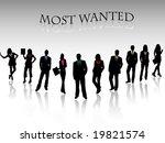 business team | Shutterstock .eps vector #19821574