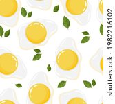 cute pattern from scrambled...   Shutterstock .eps vector #1982216102