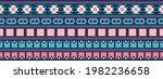 seamless vector border in... | Shutterstock .eps vector #1982236658