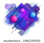 trendy abstract background.... | Shutterstock . vector #1982255552