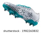 Silver Soccer Shoes With Spikes ...