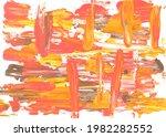 abstract art paint on white... | Shutterstock . vector #1982282552
